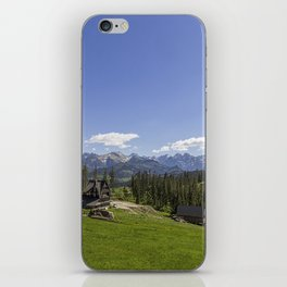 Snow Topped. iPhone Skin