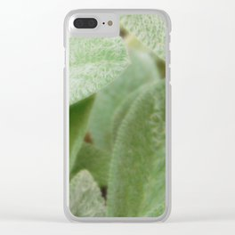 Wooly Clear iPhone Case