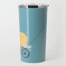 Rainbow Kite Travel Mug