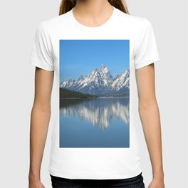 Jackson Lake and Grand Teton Refection T-shirt