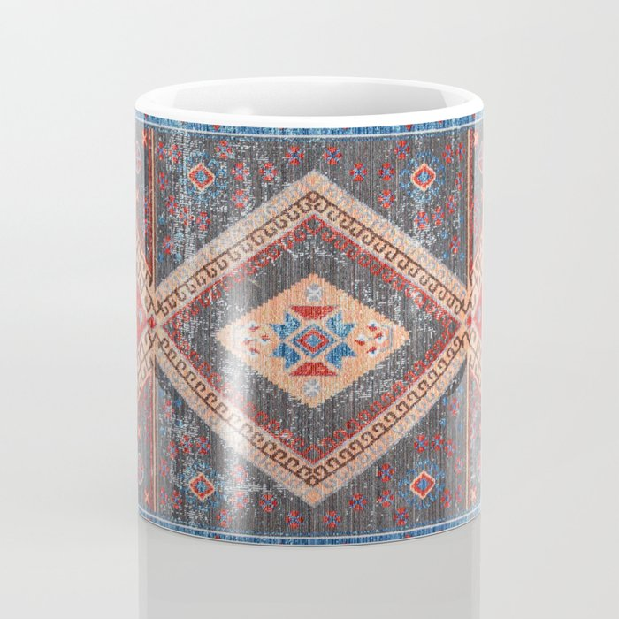 (N16) Boho Moroccan Oriental Artwork for Rustic and Farmhouse Styles. Coffee Mug