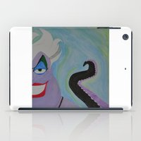 ursula iPad Cases featuring Ursula by Sierra Christy Art