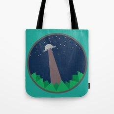 Alien's UFO Tote Bag
