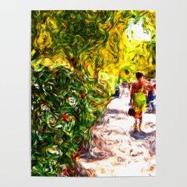 Summer promenade Poster