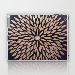 Rose Gold Flower Laptop & iPad Skin