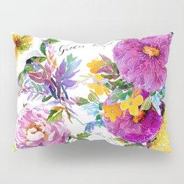 Gather Roses Pillow Sham