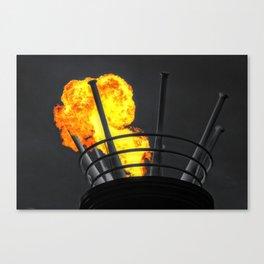 Hot Bats Canvas Print