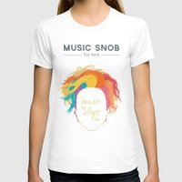 paramore T-shirts featuring Music to DYE for — Music Snob Tip #075 by Elizabeth Owens