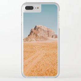 Wadi Rum Clear iPhone Case