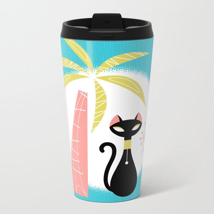 va-CAT-ions Metal Travel Mug