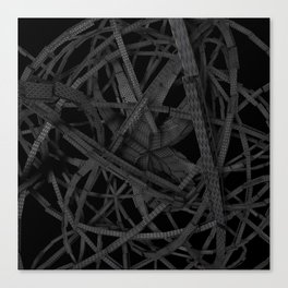 Scary spidery Canvas Print