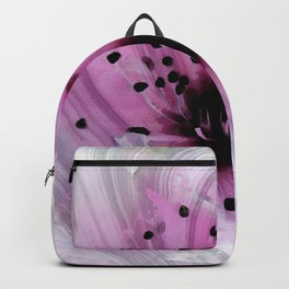 Pink Marbled Cherry Blossom Floral Art - Sharon Cummings Backpack