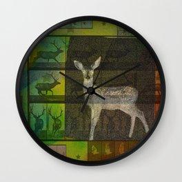 The Animal World Wall Clock