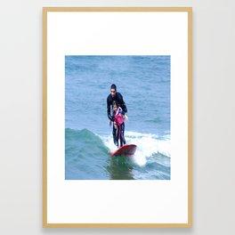 Matt & Alanna Framed Art Print