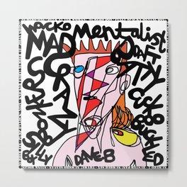 Mental Boy! Dave Bowie Metal Print