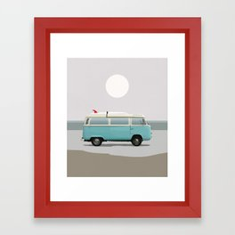 Road Trip 2 Framed Art Print
