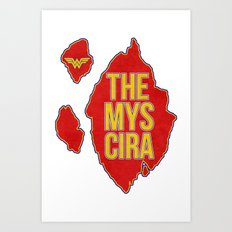 Themyscira Art Print