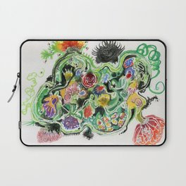 Crowded Floral Laptop Sleeve