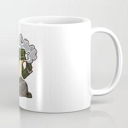Vaping Toad | Vape Vaper Frog Animal Chill Relax Coffee Mug