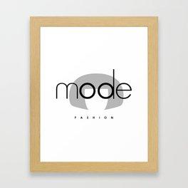 Edna Mode Fashion (logo big) Framed Art Print