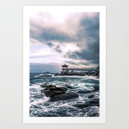 Waves of Adversity Art Print