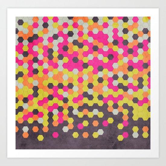 Honeycomb | Abyss Art Print