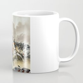 Andrew Jackson At The Battle Of New Orleans Coffee Mug