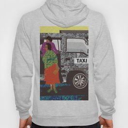 taxi in africa Hoody