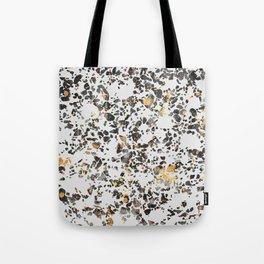 Gold Speckled Terrazzo Tote Bag