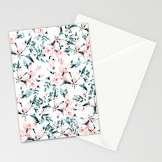 Flowers pattern 1 Stationery Cards