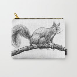 Squirrel drawing Carry-All Pouch