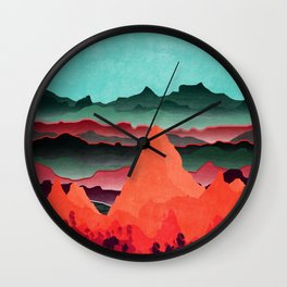 Beauty Planet XIX Wall Clock