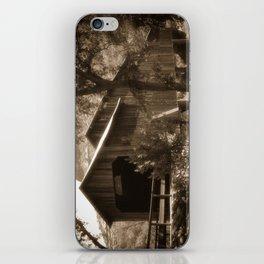 History Lost the Honey Run Covered Bridge iPhone Skin