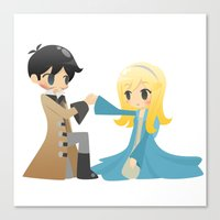 captain swan Canvas Prints featuring OUAT - Captain Swan by Choco-Minto