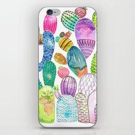 Cactus King iPhone Skin