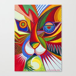 Tiger Abstract Canvas Print