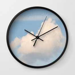 Fluffy Cloud Wall Clock