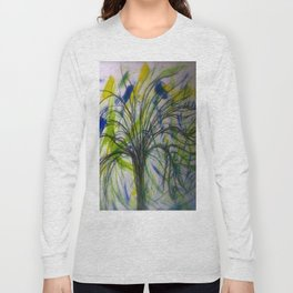 Tree In A Valley Long Sleeve T-shirt