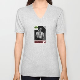 Donowitz Ball Card Unisex V-Neck