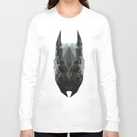 bat man Long Sleeve T-shirts featuring Bat man by Fabio Piazzi