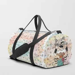Emotional Cat. Playful. Duffle Bag