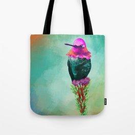 Pretty litte hummingbird Tote Bag