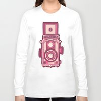 vintage camera Long Sleeve T-shirts featuring Vintage Camera by evannave