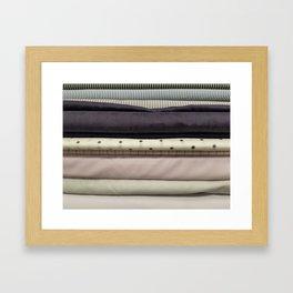 Bolt-Aubergine Framed Art Print