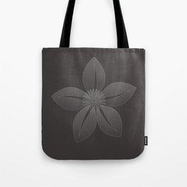 Cute Sheer Jasmin Flower Tote Bag