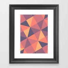 Sunset Afterglow Framed Art Print