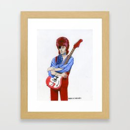 Starman Framed Art Print