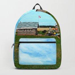 Hannah's Bottle Village Backpack