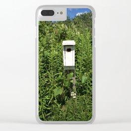 Bird House. Clear iPhone Case