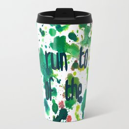 Let's Run to the End of the Moon Travel Mug